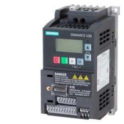V20 frekvenciaváltó Siemens 6SL3210-5BB13-7UV1