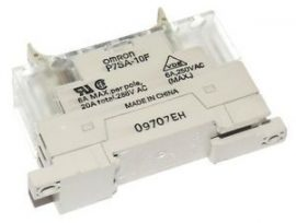Relé foglalat Omron P7SA-10F-ND-PU 24VDC